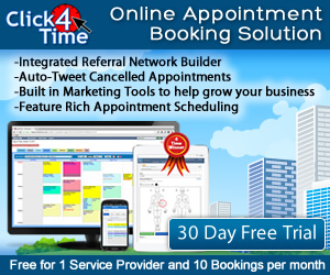 Click4Time Online Appointment Booking Software with Electronic Charting and SOAP notes